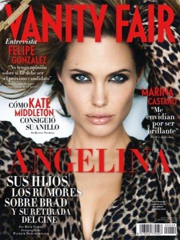 Angelina Jolie en la portada de Vanity Fair España