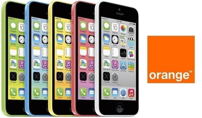 Precios iPhone 5c de 8GB con tarifas Orange