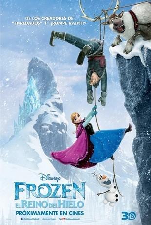 Cartel de 'Frozen: El reino del hielo'