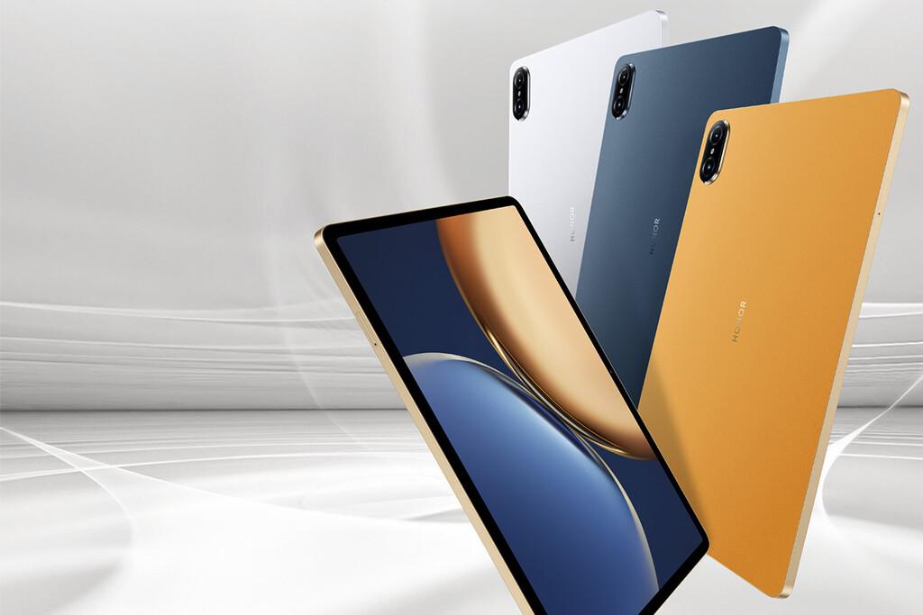 Honor Tab V7 Pro: la primera tablet con Kompanio 1300T también tiene pantalla a 120 Hz