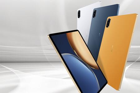 Honor Pad V7 Pro: la primera tablet con Kompanio 1300T también tiene pantalla a 120 Hz