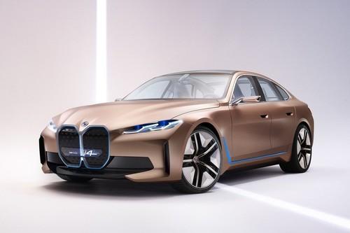 El BMW i4 Concept es el último paso antes del primer gran coupé eléctrico de BMW