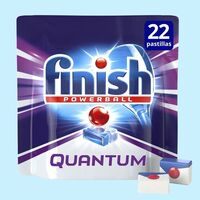 Las pastillas para lavavajillas más vendidas de Amazon son estas Finish Quantum y hoy te las llevas con un 30% de descuento