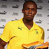 Las zapatillas de Bolt ¿influyen en su velocidad?