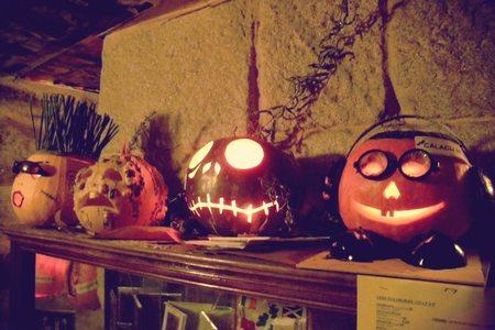 Calabazas de Halloween. El baúl de Decoesfera