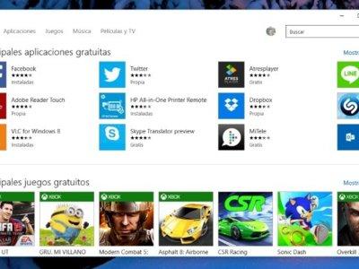 La Tienda de Windows 10 recibe una actualización que añade mejores de funcionamiento