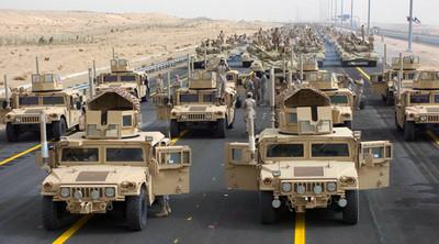 El ejército estadounidense saca a subasta varios Humvee por primera vez desde 1999