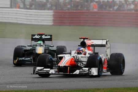Daniel Ricciardo en el Gran Premio de Gran Bretaña de F1 2011