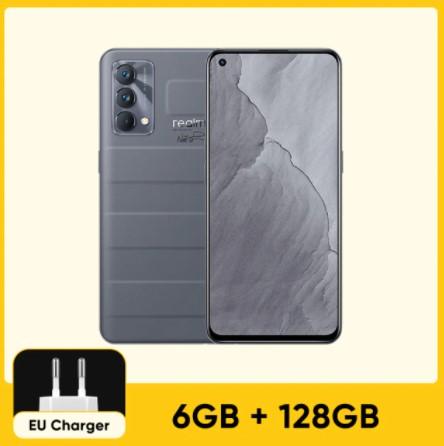"""realme GT Master Edition (Estreno mundial) Versión global Teléfono móvil Snapdragon 778G 5G 128GB/256GB Pantalla SuperAMOLED de 6,43"""" a 120Hz 4300mAh 65W NFC; el 23 de agosto a las 09:00"""