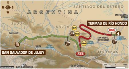 Mapa Etapa3 Dakar2016