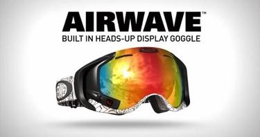 El futuro ha llegado con las nuevas gafas Airwave de Oakley