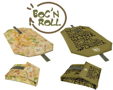 Boc'n roll: envoltorio ecológico para alimentos