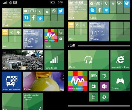 Gdr1 Start Screen Live Folders Story 1