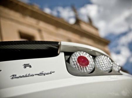 Tesla roadster sport Trasera
