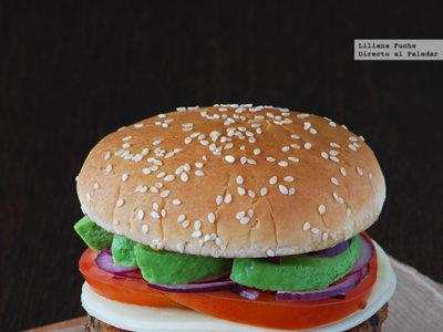 La mejor hamburguesa vegetal que probarás jamás. Receta