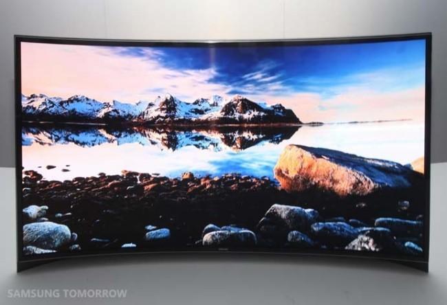 El televisor curvado de 55 pulgadas de Samsung ya se puede disfrutar en Corea