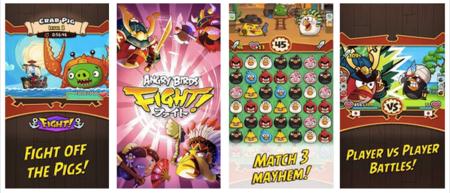 Angry Birds Fight! lo nuevo de Rovio, es presentado con dos trailers muy extraños