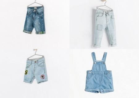 ropa niños zara denim