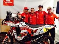 Dakar 2014: el Team GAS GAS y su paso por territorio chileno por Englobally