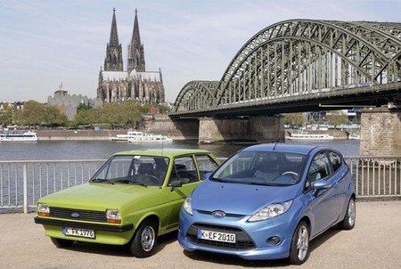 Colonia fabrica su Ford Fiesta número 6.000.000