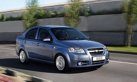 El Chevrolet Aveo 4p cambia de motores