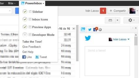 Integra en tu correo web las principales redes sociales con PowerInbox