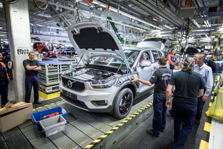 Comienza la producción del Volvo XC40, del que ya hay más de 13.000 pedidos