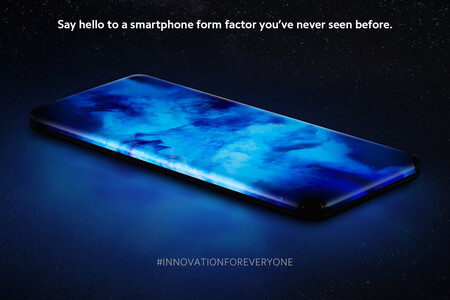 Xiaomi Smartphone Concepto Quad Curved Waterfall Display