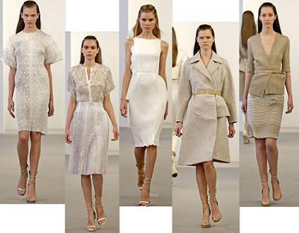 Colección Calvin Klein crucero 2009