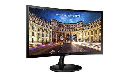 Con el Samsung C27F390FHU, puedes tener un monitor curvo de 27 pulgadas para tu PC por sólo 159,99 euros en Amazon