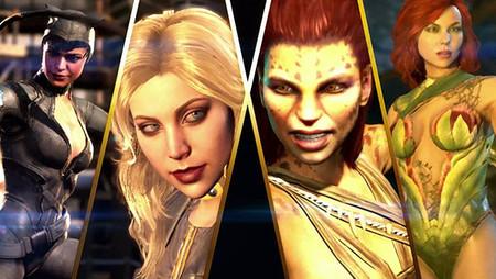 Las chicas son guerreras: Catwoman, Hiedra Venenosa  y Cheetah  se suman al roster de Injustice 2