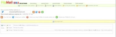FilzMail, nuestro buzón de e-mail por 24 horas