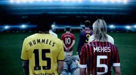 'FIFA 12', nuevo anuncio con futbolistas reales