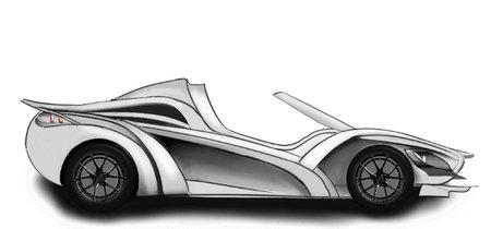 Se llama Sin S1 y es un superdeportivo modular que podrá ser coupé o cabrió, y ofrecerá diversos motores