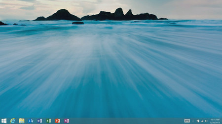 Escritorio en Windows 8.1