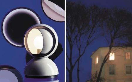 Una lámpara inspirada en los eclipses
