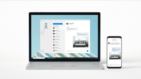 Así funciona 'Your Phone' en Windows 10: no es mirroring puro, pero promete