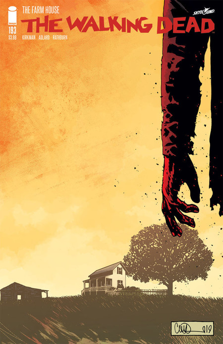 The Walking Dead 193 Cover