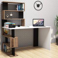 No sólo en Ikea hay muebles baratos: este escritorio Snap de Minar by Homemania cuesta tan sólo 104,84 euros en Amazon