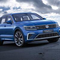 Volkswagen Tiguan GTE Concept, llegan los SUV híbridos 'plug-in' que se pueden cargar con el sol