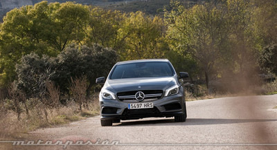 Mercedes-Benz A 45 AMG, prueba (parte 2)