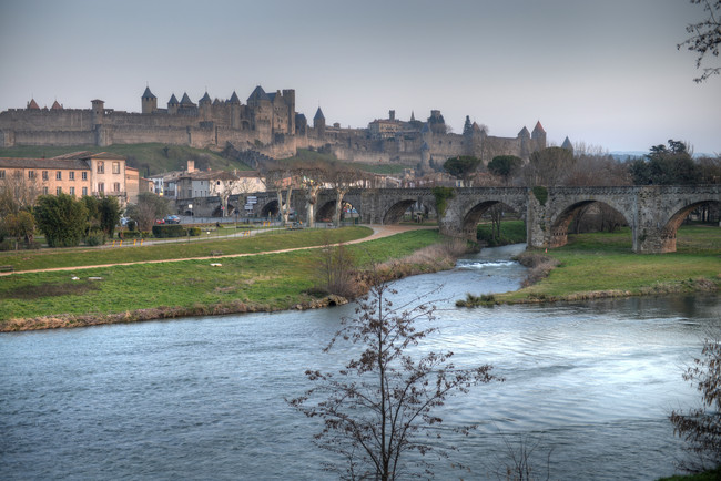 Carcasona Región de Aude