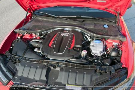 Audi RS 6 Avant motor