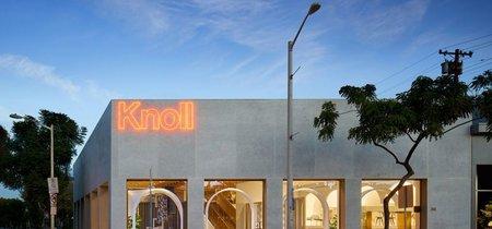 La tienda de Knoll en Los Angeles está inspirada en el Castillo de York en Marruecos