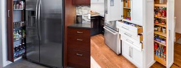 Los 17 muebles más sorprendentes y funcionales para organizar la cocina