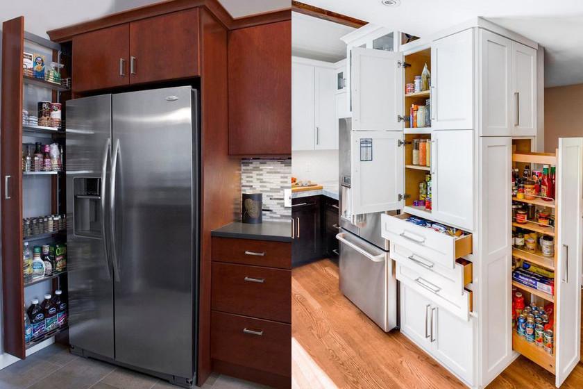 Los 17 muebles más sorprendentes y funcionales para organizar la cocina 98336dc5f115