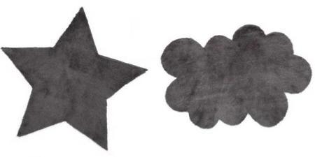 estampados gráficos en blanco y negro para decorar el dormitorio de tu bebé