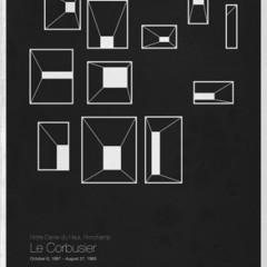 Foto 2 de 6 de la galería six-architects-posters-minimalistas-de-grandes-arquitectos en Decoesfera