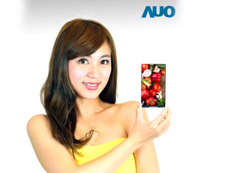 AUO tiene listas nuevas pantallas de última generación para dispositivos móviles