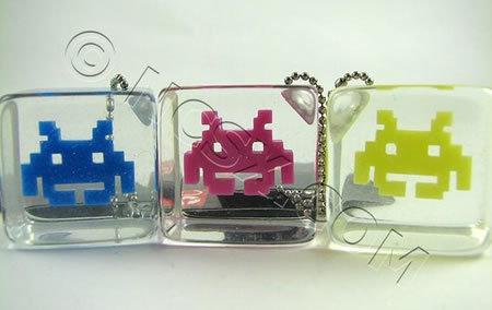 Llaveros de Space Invaders